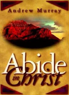 Andrew Murray - Abide in Christ.pdf