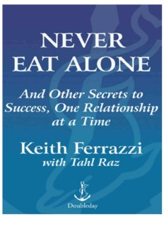 Never Eat Alone by Keith Ferrazzi