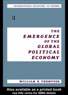 POLITICAL ECONOMY The Emergence of the global political economy.pdf
