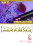 Paper 14- Advanced Financial Management - Institute of Cost