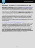 Hibbeler Dynamics 12th Edition Solutions PDF