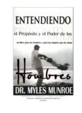 363sito e o Poder dos Homens - Myles Munroe)