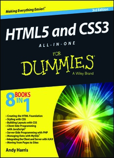 HTML5 and CSS3 All-in-One For Dummies (3rd Edition)