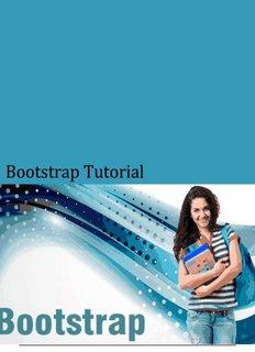 Download Bootstrap Tutorial (PDF Version) - Tutorials Point