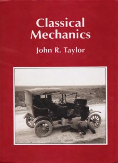 Page 1 Classical Mechanics John R. Taylor Page 2 Page 3 Page 4 Classical mechanics John r ...