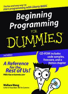 Beginning Programming for Dummies 3rd ( ebfinder.com ).pdf