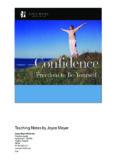 CONFIDENCE - Joyce Meyer Ministries: Asia - Home