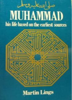 Muhammad_ His Life Based on the Earliest Sources ( ebfinder.com ).pdf