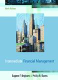 INTERMEDIATE FINANCIAL MANAGEMENT - Sharif