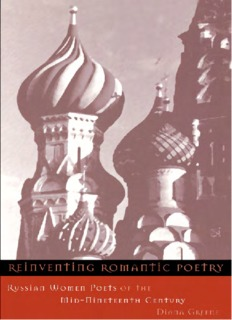 Reinventing Romantic Poetry - Russian Women Poets of the Mid-Nineteenth Century.pdf