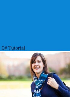 C# Tutorial - Tutorials for Swing, Objective C, Android