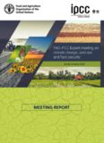 Report on the FAO-IPCC expert meeting on climate change, land use and food security