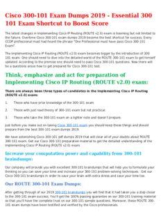 300-101 Mock Exam To Improve Your 300 101 Test Score