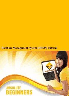 Database Management System [DBMS] Tutorial - Tutorials Point