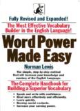 Word Power Made Easy IRDA English Preparation