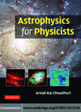 Astrophysics for Physicists.