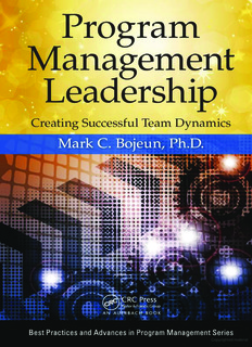 Leadership and Program Management