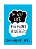 The Fault In Our Stars Booklet