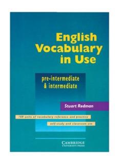 Cambridge Vocabulary In Use Advanced Pdf