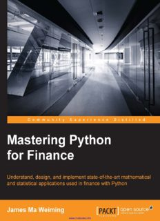 Mastering Python for Finance.pdf