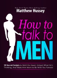 How to Talk to Men