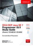 II Study Guide (Exams 1Z0-803 - 1Z0-804)