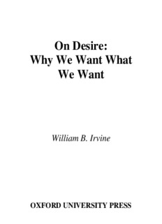 Why We Want What We Want