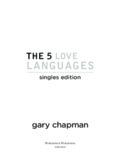 the 5 love languages - Amazon Web Services