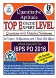 1000 Quantitative Aptitude Questions PDF
