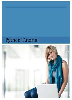 Python Tutorial - Tutorials Point