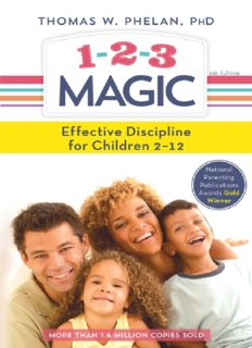 1-2-3 Magic_ 3-Step Discipline for Calm, Effective, and Happy Parenting ( ebfinder.com ).pdf