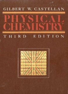 castellan physical chemistry