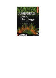 Histology Book Junqueira Pdf
