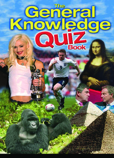 General Knowledge Quiz Questions & Answers