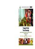 Tropical Fruit Tree Diversity Edited by Bhuwon Sthapit, Hugo AH Lamers, V. Ramanatha Rao and ...