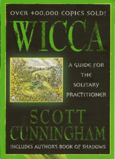 Wicca A Guide for the Solitary Practitioner - Ning