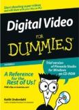 Digital Video For Dummies 3rd Edition