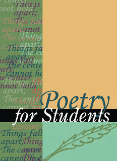 Poetry for Students, Volume 29