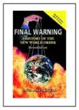 Final Warning - David Allen Rivera