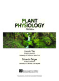 Plant Physiology, Fifth Edition - Sinauer Associates