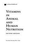 vitamins in animal and human nutrition