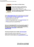 Atomic, Molecular, and Optical Physics Panel on Atomic, Molecular