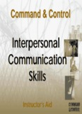 Interpersonal Communication Skills Skills