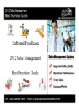 Sales Management Best Practices - outboundexcellence