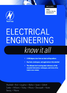 Electrical Engineering – Know It All