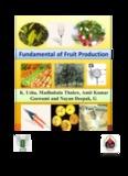 Fundamental of fruit production