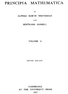 Alfred North Whitehead & Bertrand Russell