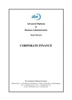 An Overview of Corporate Finance and the Financial Environment ( ebfinder.com ).pdf