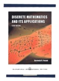 Discrete Mathematics And Its Applications, 6th Edition