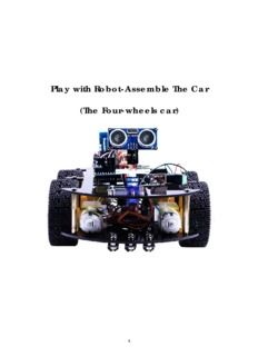 Play with Robot-Assemble The Car